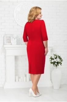 Вечерние платья Нинель Шик 7213 красный фото 2