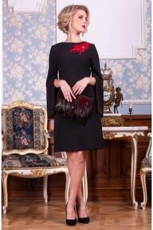 Euro-moda 197 черный с красным