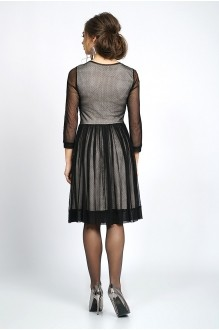 Вечерние платья ALANI COLLECTION 828 черный+беж фото 2