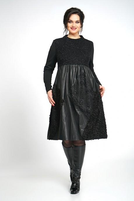 Повседневные платья ALANI COLLECTION 838 черный