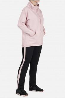 Mirolia 429-2 чёрный+розовый лампас