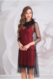 Golden Valley 4528 платье черный+красный