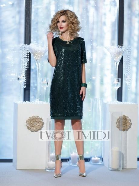Вечерние платья Твой Имидж 9862 бутылка
