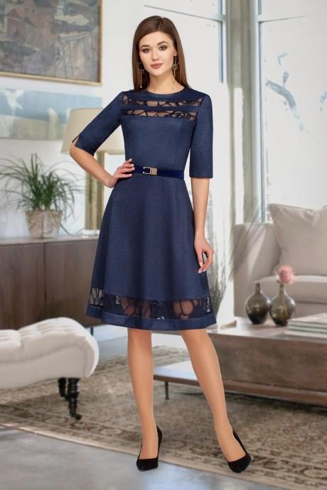 Вечерние платья Beautiful&Free 1817 синий