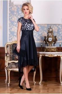 Euro-moda 193 синий+серебро