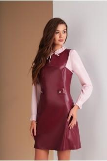 Ksenia Stylе 1553 марсала+розовый