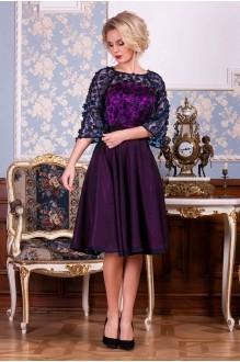 Euro-moda 198 фиолетовый+синий