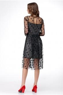 Вечерние платья Ладис Лайн 1029 серебристо-черный фото 4