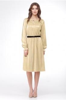Вечерние платья Ладис Лайн 1011 золотой фото 2