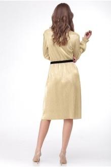Вечерние платья Ладис Лайн 1011 золотой фото 3