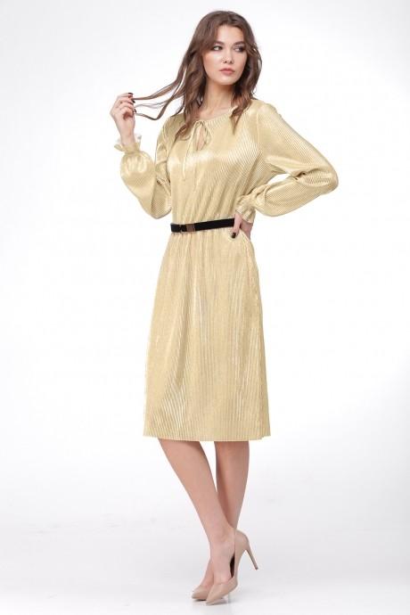 Вечерние платья Ладис Лайн 1011 золотой