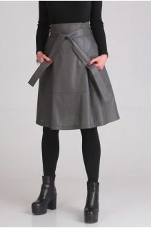 Юбки Ладис Лайн 1023 серый фото 2