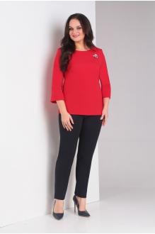 Милора Стиль 664 красный с черным