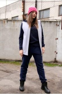 Runella 1310 темно-синий+серый