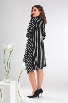 Кардиганы Мода-Юрс 2357А  черный + белый фото 5