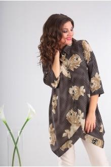 Мода-Юрс 2413 бежевые цветы