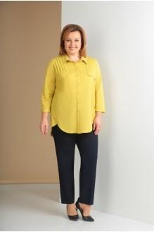 Ksenia Stylе 1621 желтый+темно-синий