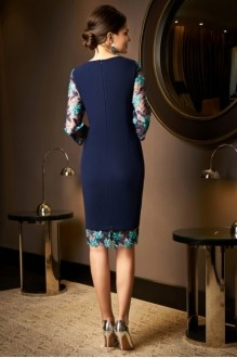 Вечерние платья *Распродажа *Распродажа Lissana 3518 темно-синий фото 2