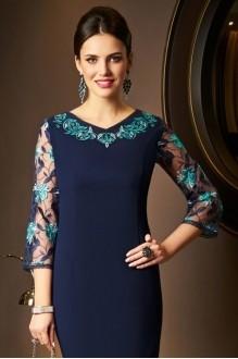 Вечерние платья *Распродажа *Распродажа Lissana 3518 темно-синий фото 3