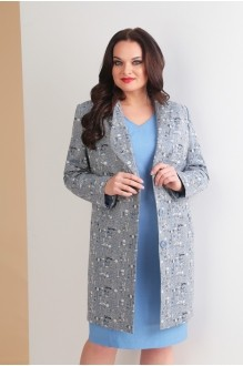 Ksenia Stylе 1627 голубой+серый