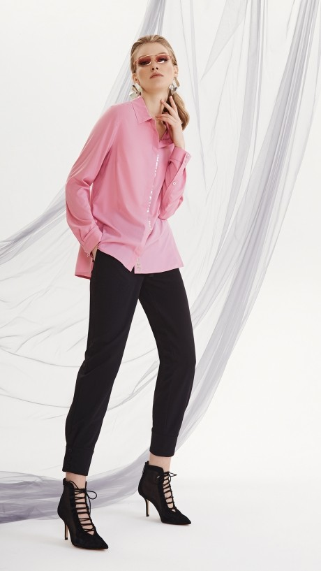 DiLiaFashion 0144 -1 розовый