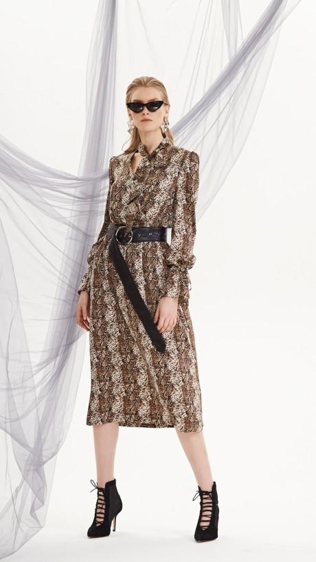 Повседневные платья DiLiaFashion 0208 змея