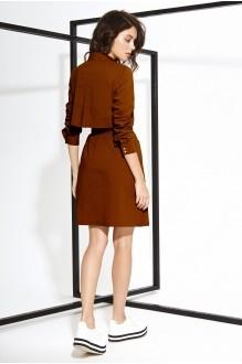Повседневные платья Buter 631 коричневый фото 2