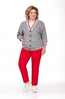 Pretty 693 с красными брюками