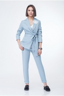 Либерта 487 -1 светло-голубой меланж