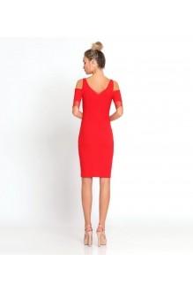 Вечерние платья Prio 181180 красный фото 2