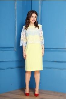 Anastasia 247 жёлтый+бело-жёлто-голубая полоска