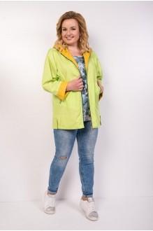 Куртки TricoTex Style 1904 яблоко + горчица  фото 3
