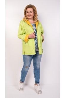 Куртки TricoTex Style 1904 яблоко + горчица  фото 4