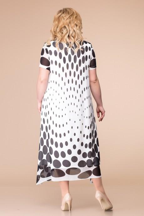 Romanovich Style 1-1332 бело-черный горох