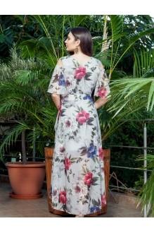 Длинные платья, платья в пол ЛаКона 1112 светло-серый фото 2
