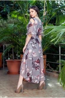 Длинные платья, платья в пол ЛаКона 1112 темно-серый фото 2