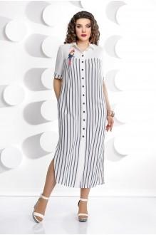 Длинные платья, платья в пол Мублиз 226  полоска фото 1
