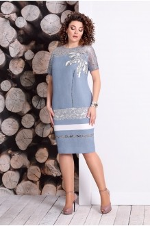 Летние платья Мублиз 327 джинс фото 1