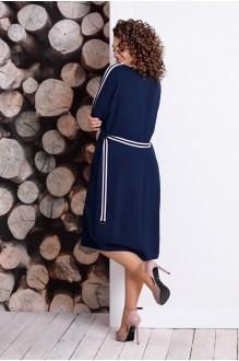 Летние платья Мублиз 334 синий фото 2