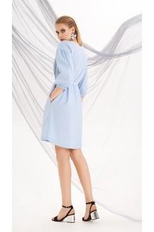 Летние платья DiLiaFashion 0219 голубой фото 4