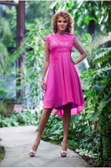 Euro-moda 193 розовый+основа сирень