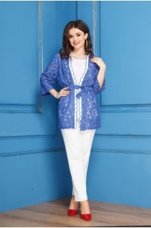 Anastasia 272 синий/белый