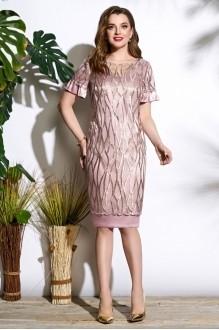 Lissana 3563 дымчато-розовый+золотистый