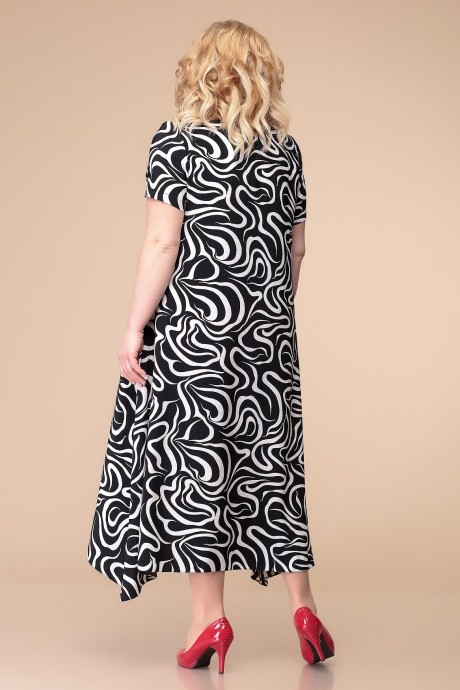 Romanovich Style 1-1332 чёрно-белая зебра