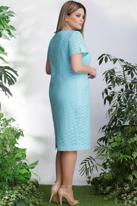 LeNata 12888 нежно-бирюзовый