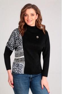 Таир-Гранд 62341 черно-белый леопард