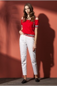 Nova Line 4561 джинс белый