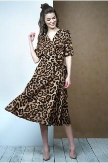 Fantazia Mod 3387 бежево-коричневый леопард