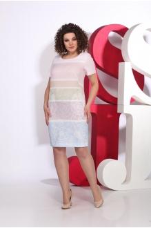Juliet style  103 -7 розово-голубой