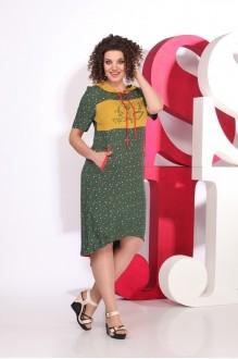 Juliet style  D16-3капюшон зеленый